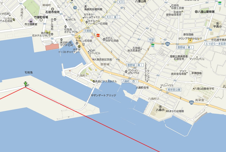 石垣島の自然などを撮影する時に便利なサイト