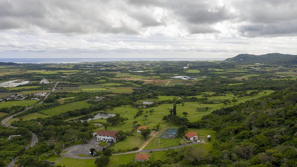石垣島陸上自衛隊配備計画地、空撮画像、動画