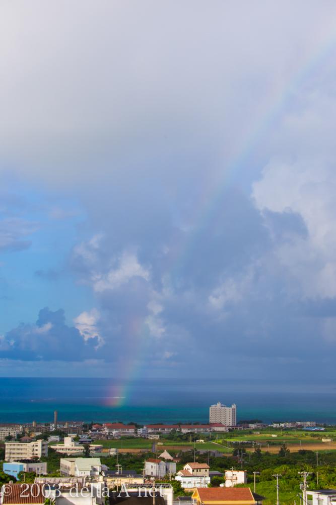 虹の季節ですね〜