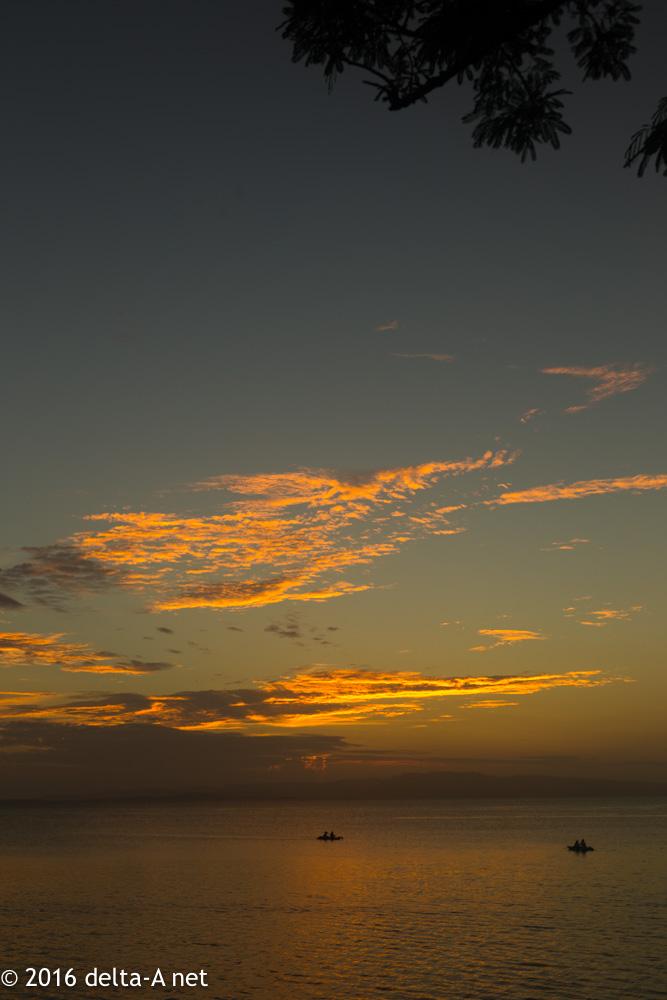 今日の夕焼け 2016.10.24