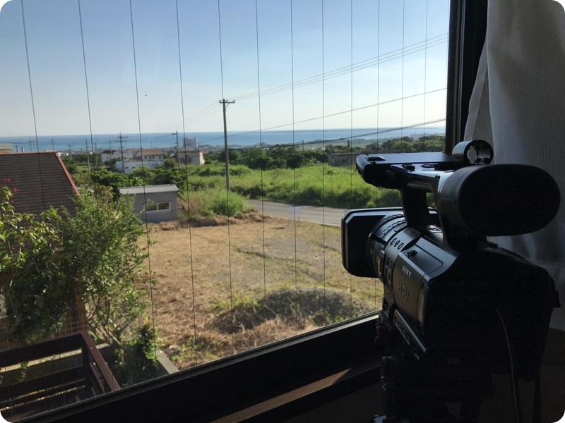 これから石垣島の風景を24時間中継します
