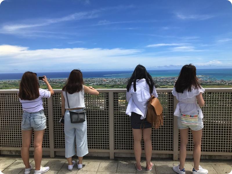 香港女子、石垣島を楽しむ