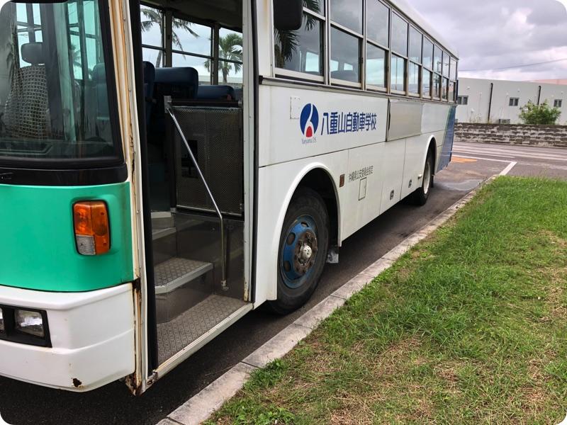 大型バス、運転してきました