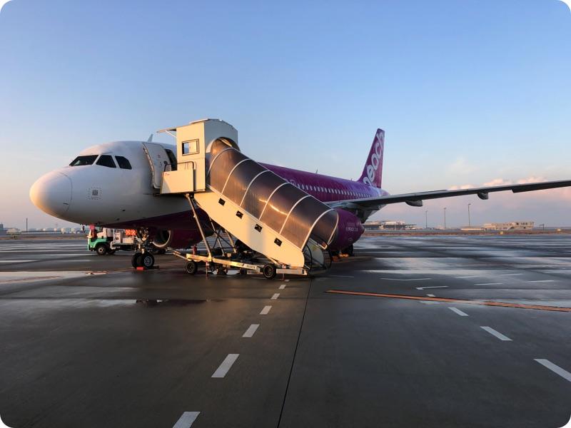 大阪からの帰り道に感じたこと。特にピーチ航空について。
