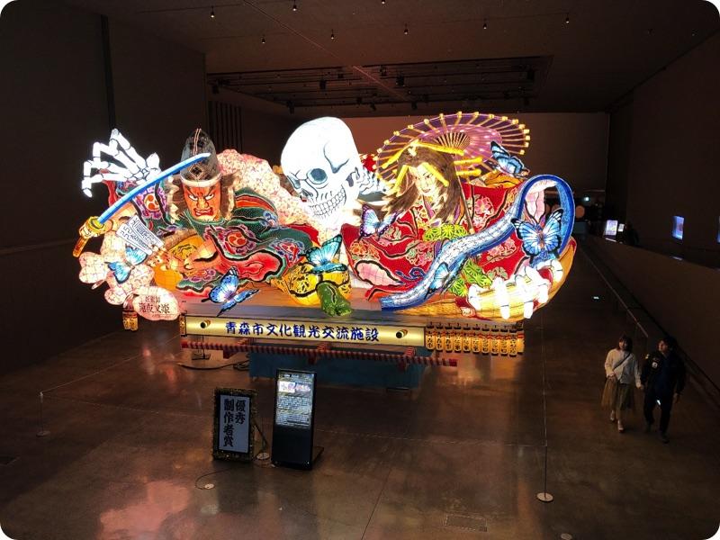 軽トラハウス、日本一周36日目。ねぶた見学