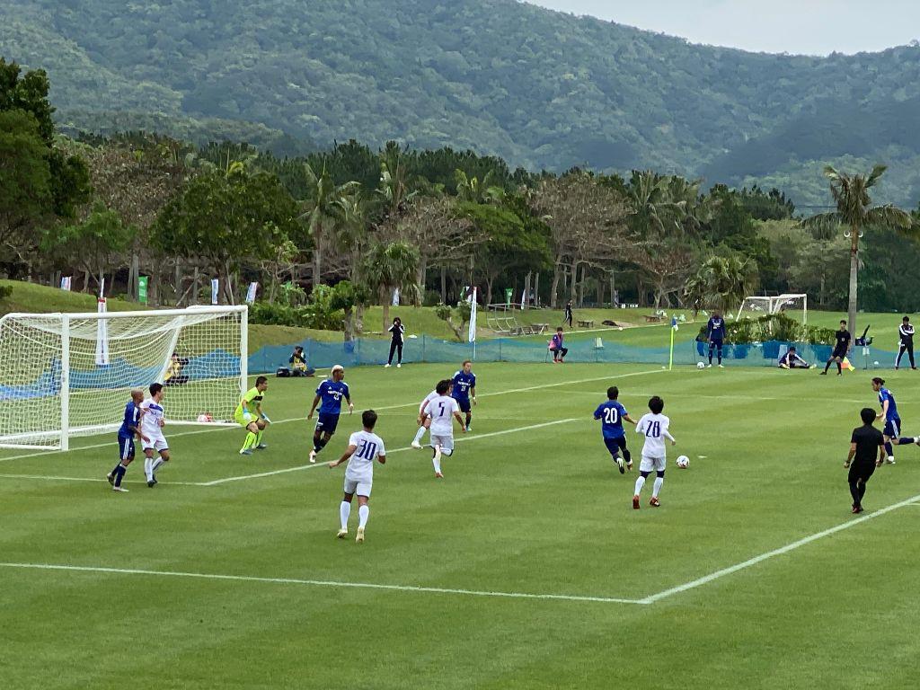 横浜F・マリノスの練習試合を見てきた