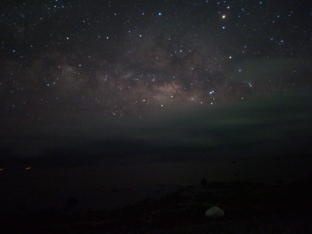 久しぶりに星空撮影