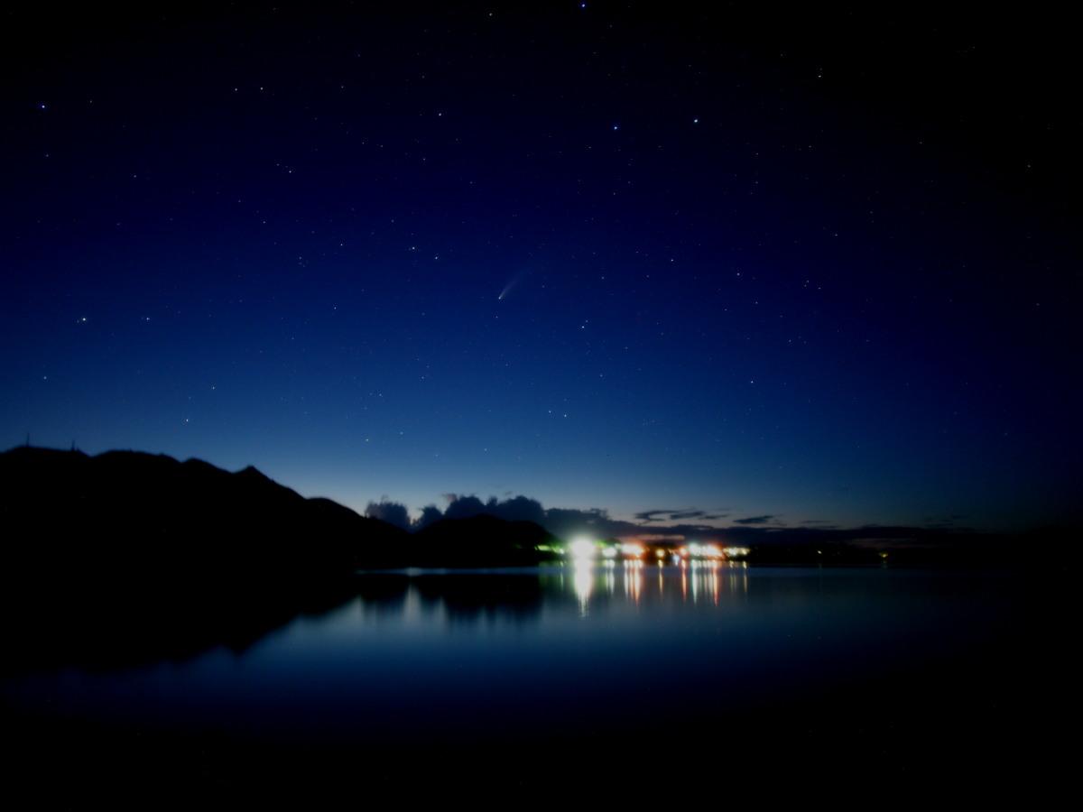 ネオワイズ彗星、再び