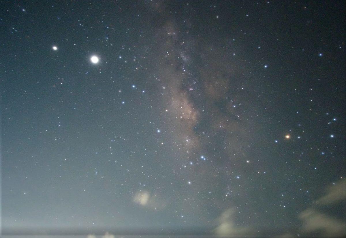 石垣島の天の川、タイムラプス映像で その1