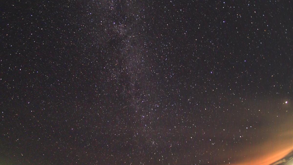 ペルセウス座流星群、撮影失敗