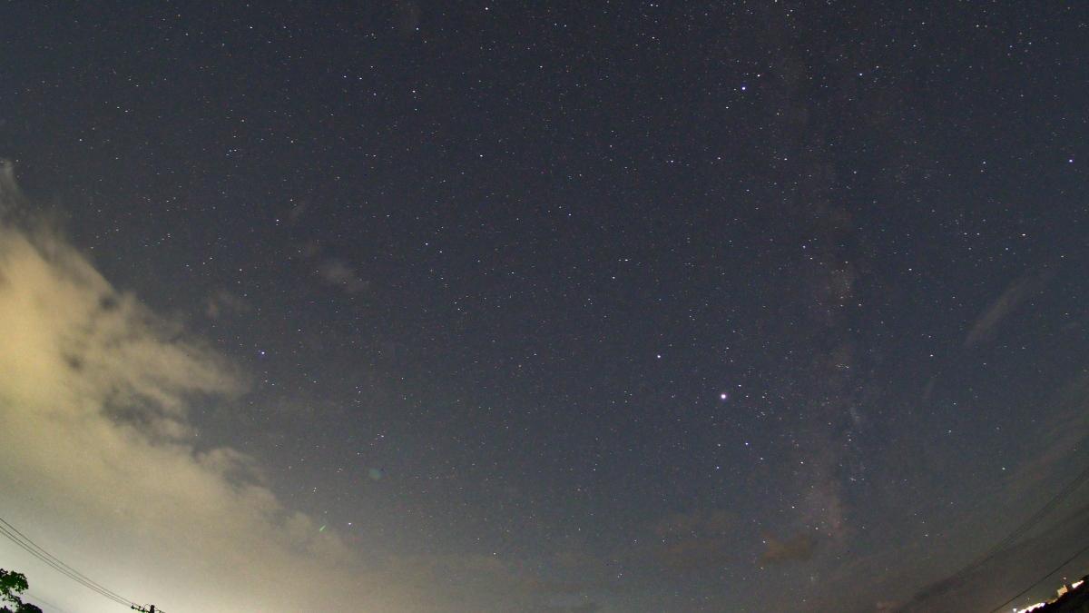 石垣島の天の川、タイムラプス映像で その4