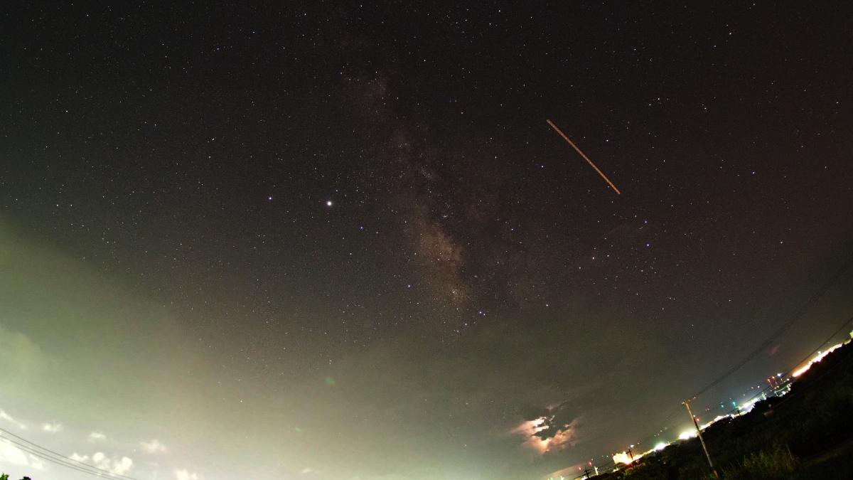 石垣島の天の川、タイムラプス映像で その5