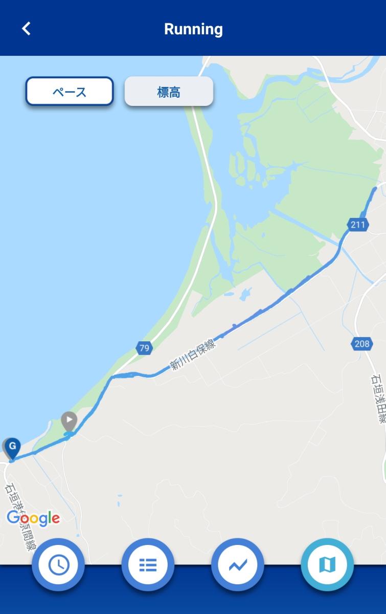 石垣島webマラソン初日