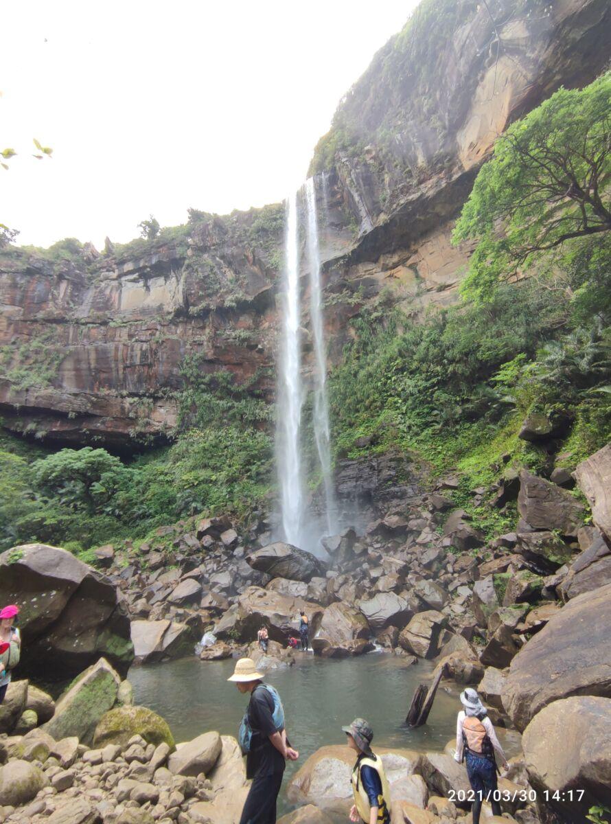 ピナイサーラの滝、自力で行ってきました