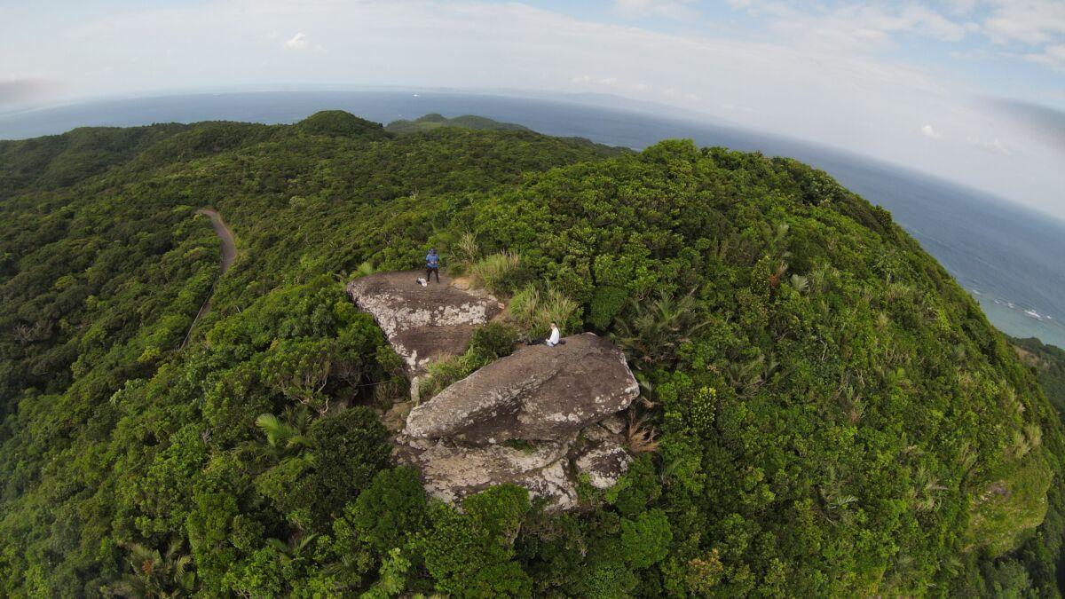 最高の天気の中の石垣島観光