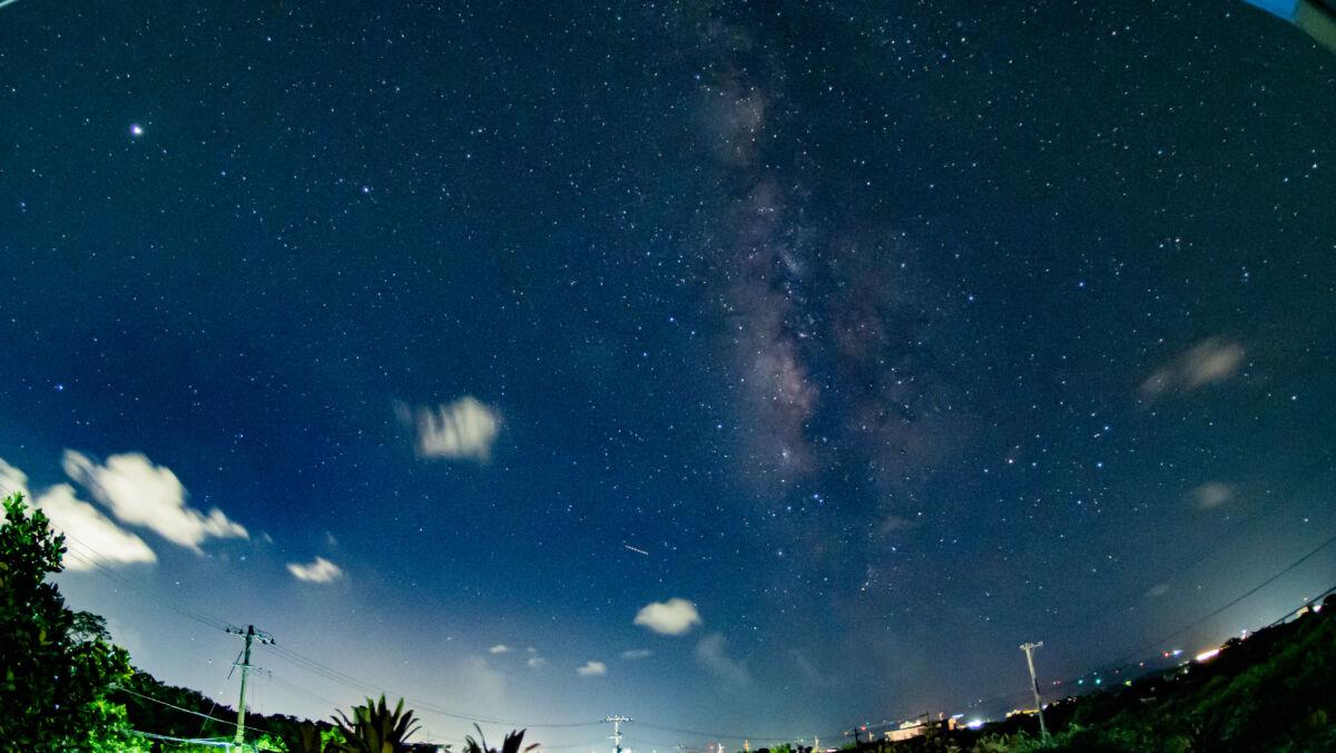 天の川ナイトラプス久しぶりに撮影