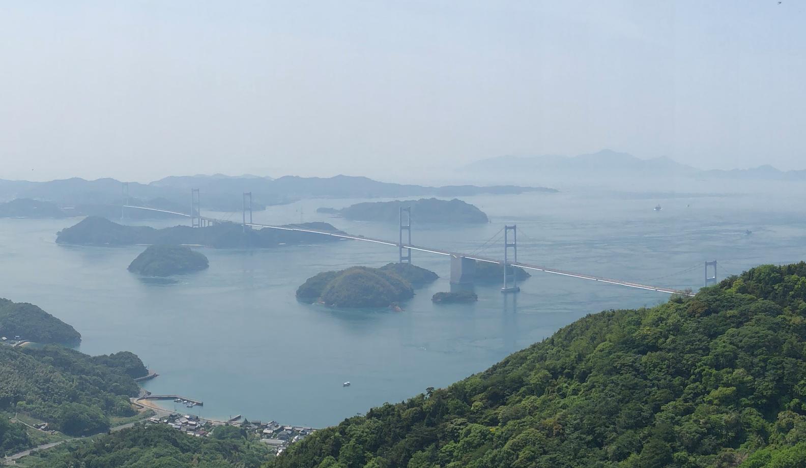 軽トラハウス、日本一周20日目。四国を離れ広島入り
