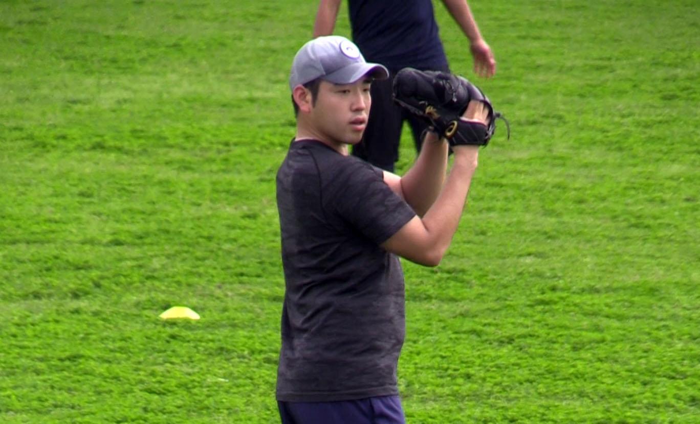 菊池雄星投手、アメリカにいるんじゃないの? 石垣島での自主トレにびっくり。動画あり。